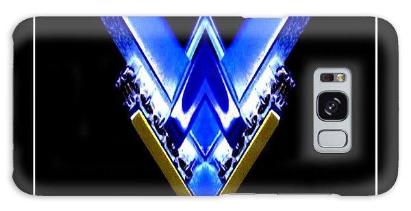 Blue Arrow Galaxy Case