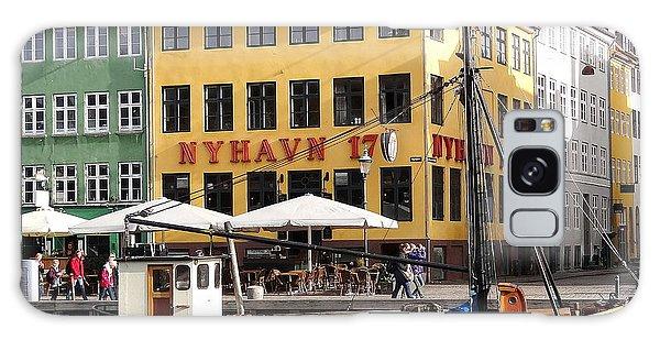 Boat In Nyhavn Galaxy Case
