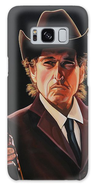 Bob Dylan 2 Galaxy Case by Paul Meijering