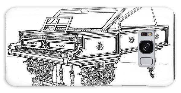 Bosendorfer Centennial Grand Piano Galaxy Case