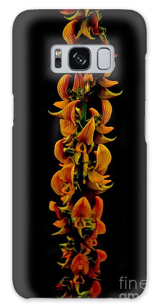 Bunch Of Flowers Galaxy Case by Michelle Meenawong