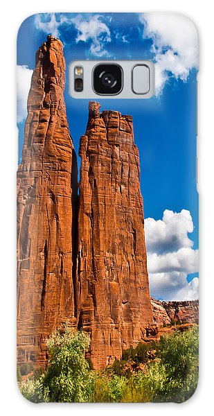 Canyon De Chelly Spider Rock Galaxy Case by Bob and Nadine Johnston