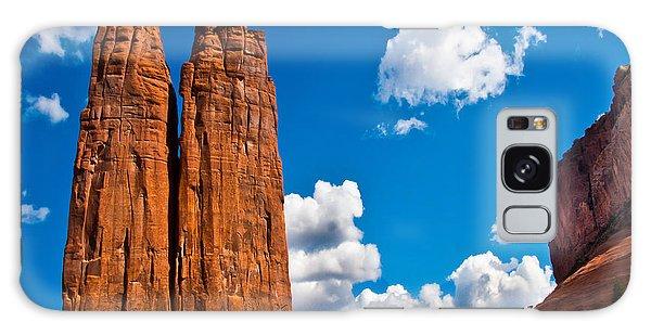Canyon De Chelly Spider Rock Galaxy Case