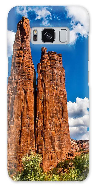 Canyon De Chelly Spider Rock Galaxy Case