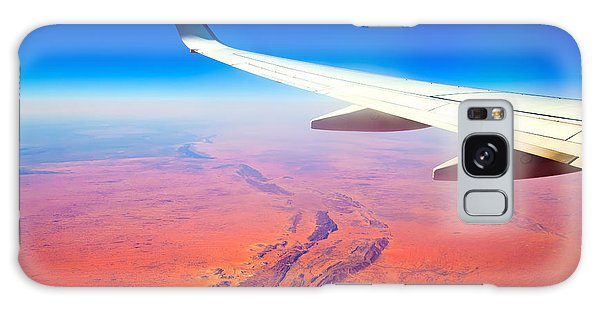 Central Australia From The Air  Galaxy Case by Bill  Robinson