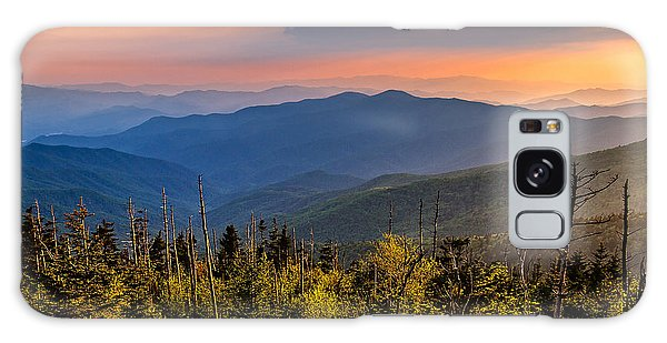 Clingmans Dome Sunset Galaxy Case