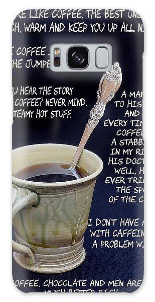 Coffee Humor Galaxy Case