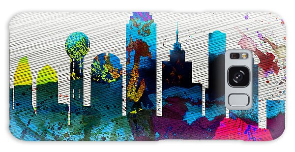 Dallas Galaxy S8 Case -  Dallas City Skyline by Naxart Studio