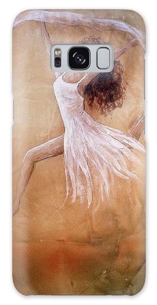 Dancer Leap In Double Attitude Galaxy Case