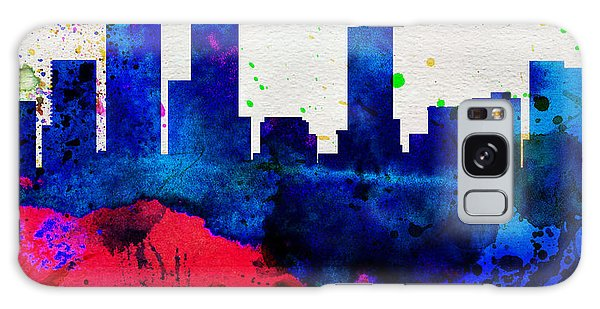 Downtown Galaxy Case -  Denver City Skyline by Naxart Studio