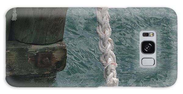 Dock Rope And Wood Galaxy Case by Loriannah Hespe