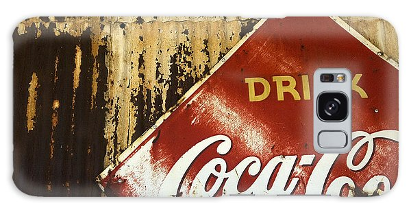Drink Coca Cola  Memorbelia Galaxy Case by Bob Christopher
