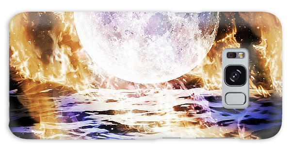 Emotions On Fire Galaxy Case by Persephone Artworks