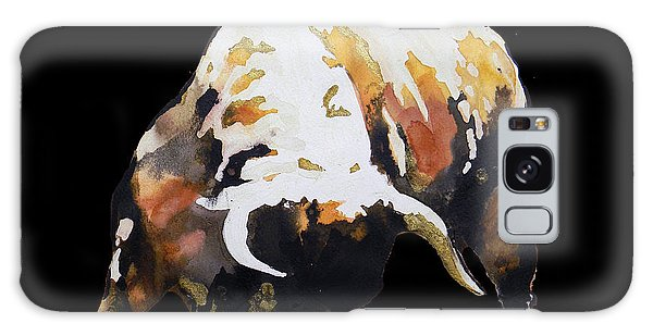 Fight Bull In Black Galaxy Case by J- J- Espinoza