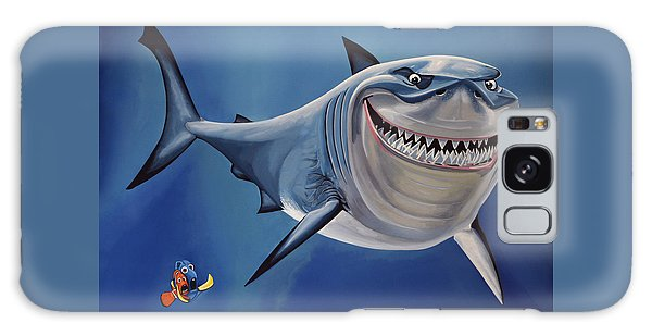 Finding Nemo Painting Galaxy Case by Paul Meijering
