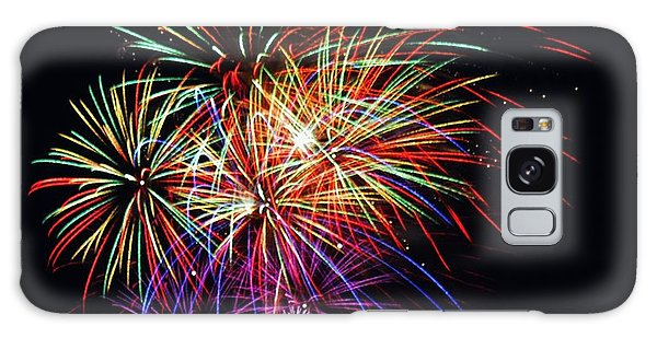 Fireworks Across The Bay Galaxy Case