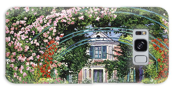 Flowering Arbor Giverny Galaxy Case