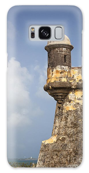 Fortified Walls And Sentry Box Of Fort San Felipe Del Morro Galaxy Case