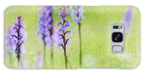 Orchidaceae Galaxy Case -  Fragrant Orchids by Tim Gainey