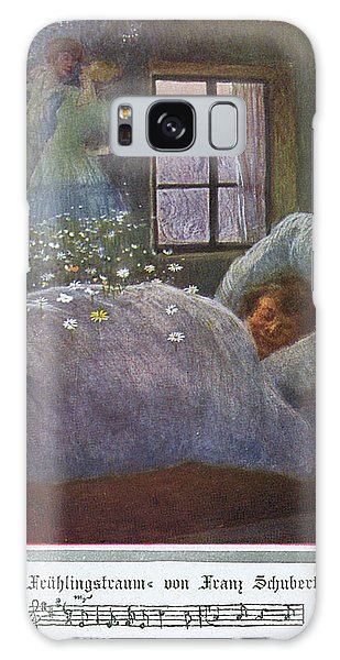 Schubert Galaxy Case -  'fruhlingstraum' (dream Of Spring) by Mary Evans Picture Library