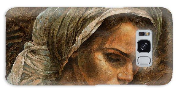 Turban Galaxy Case -  Girl In A Turban by Arthur Braginsky