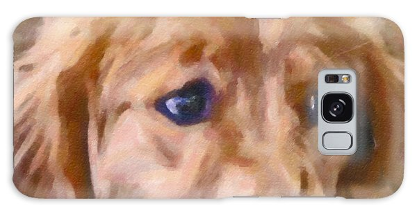 Golden Retriever Dog Galaxy Case