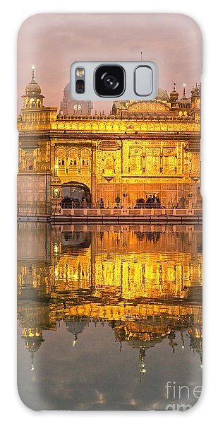 Golden Temple In Amritsar - Punjab - India Galaxy Case