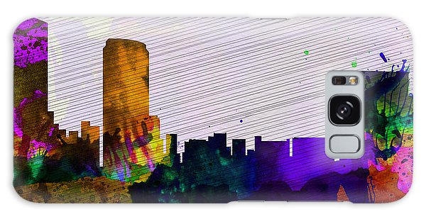 Usa Galaxy Case -  Grand Rapids City Skyline by Naxart Studio