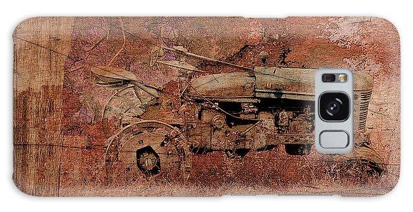 Grandpa's Old Tractor Galaxy Case