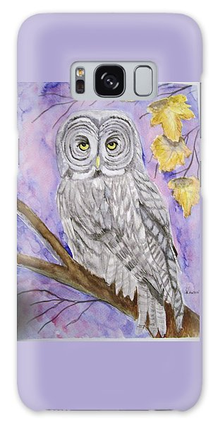 Grey Owl Galaxy Case