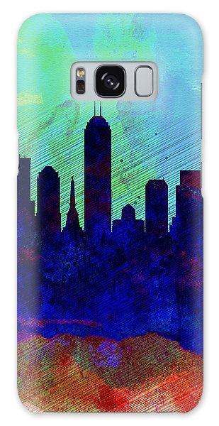 Indianapolis Galaxy Case -  IIndianapolis Watercolor Skyline by Naxart Studio