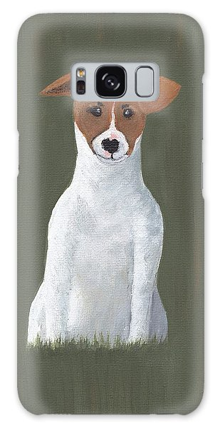 Jack Russell Puppy Galaxy Case