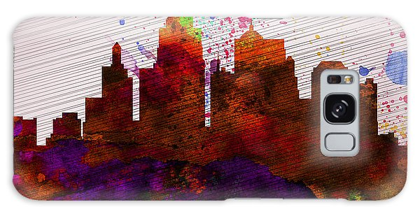 Downtown Galaxy Case -  Kansas City Skyline by Naxart Studio