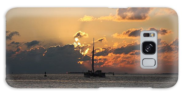 Marelous Key West Sunset Galaxy Case by Christiane Schulze Art And Photography