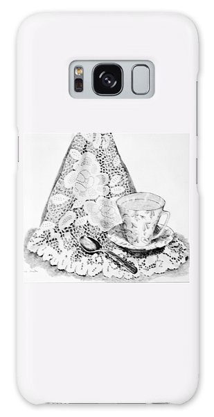 Lace With Cup Galaxy Case