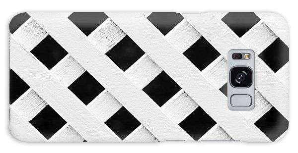 Lattice Fence Pattern Galaxy Case