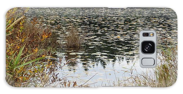Lily Pads On Whonnock Lake Galaxy Case by Joyce Gebauer
