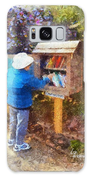 Alameda  Little Free Library Galaxy Case
