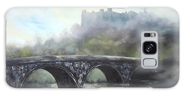 Ludlow Castle In A Mist Galaxy Case by Jean Walker