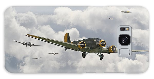 Front Galaxy Case -  Luftwaffe Ju52  - Stalingrad by Pat Speirs