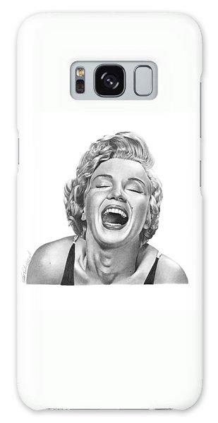 Marilyn Monroe - 034 Galaxy Case by Abbey Noelle