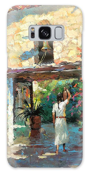 -mexican Girl With Jug Galaxy Case by Dmitry Spiros