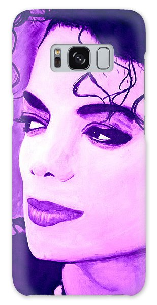 Michael Jackson In Purple Galaxy Case