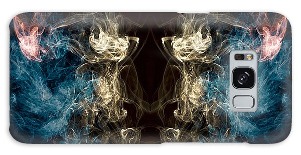 Minotaur Galaxy Case -  Minotaur Smoke Abstract by Edward Fielding