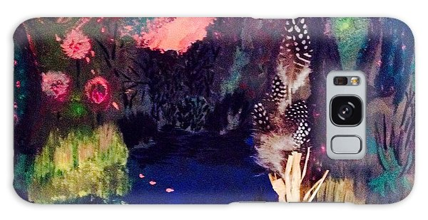 My Pond Galaxy Case by Vanessa Palomino