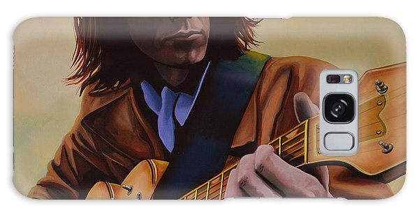 Cd Galaxy Case -  Neil Young Painting by Paul Meijering
