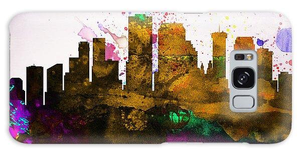 Downtown Galaxy Case -  New Orleans City Skyline by Naxart Studio