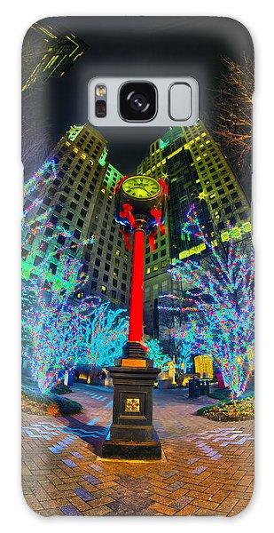 Nightlife Around Charlotte During Christmas Galaxy Case