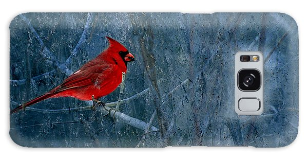 Northern Cardinal Galaxy Case by Thomas Young