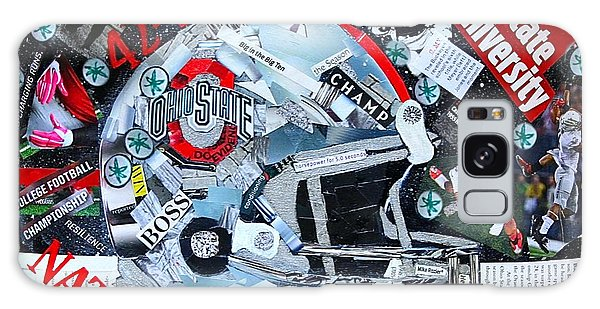 Ohio State University National Football Champs Galaxy Case by Colleen Taylor
